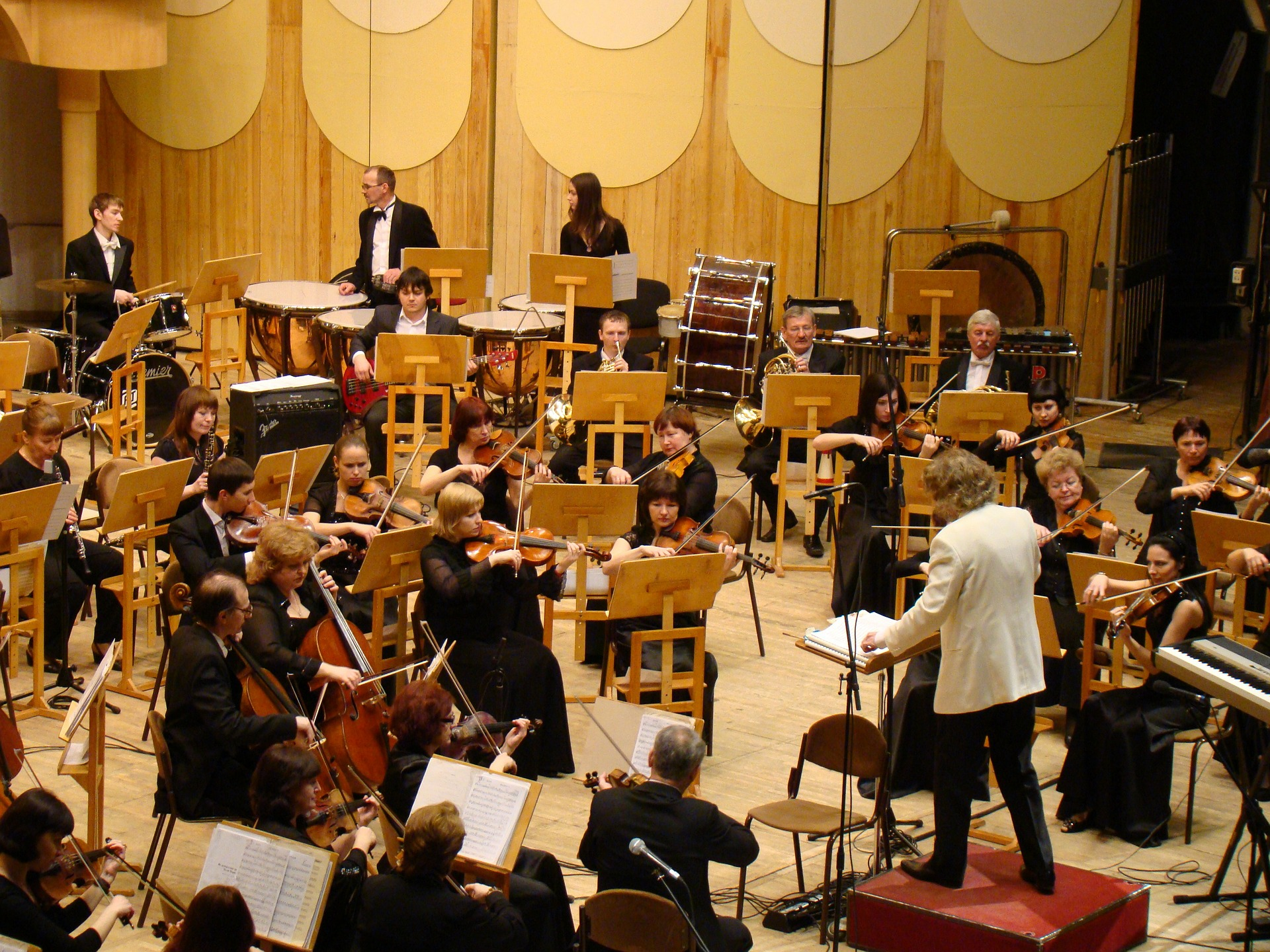 What is an orchestra 35