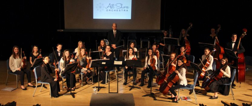 New Registered Non-Profit Announces the Formation of All Shore Orchestra
